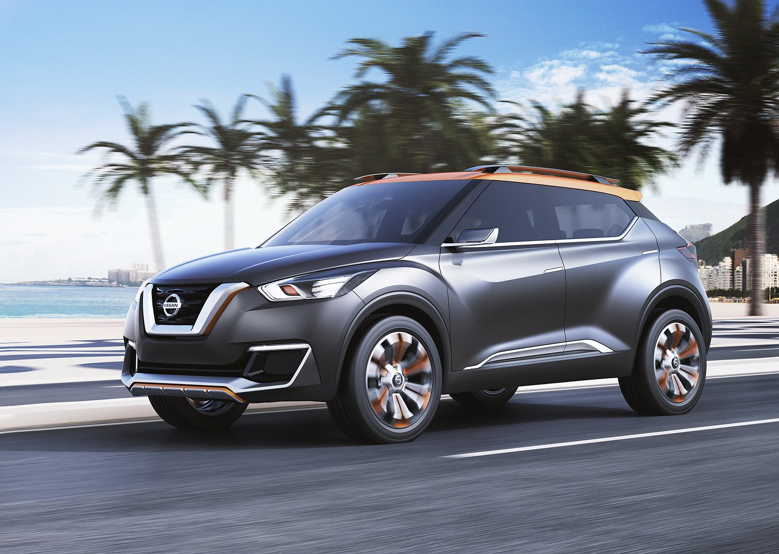 Latest Nissan Kicks Concept Previews Brazil Only Production Model Free Download