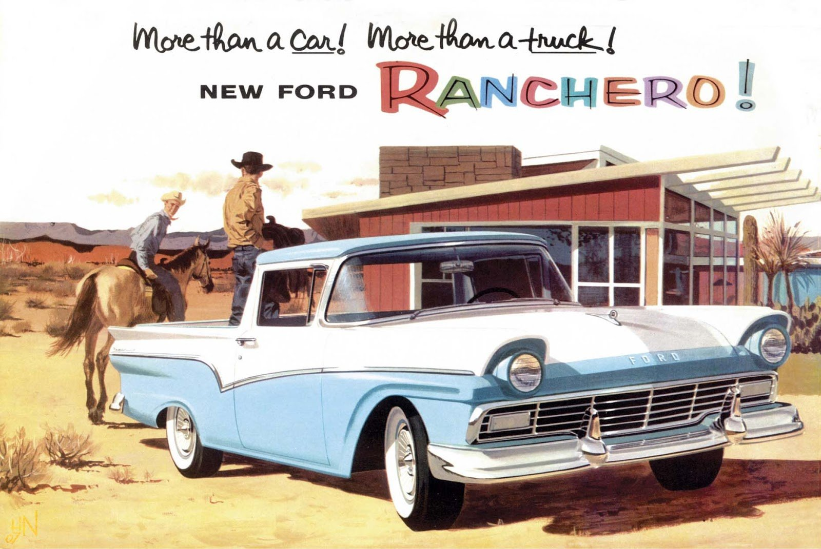 Latest Car Style Critic First Series Ford Ranchero Half Car Free Download