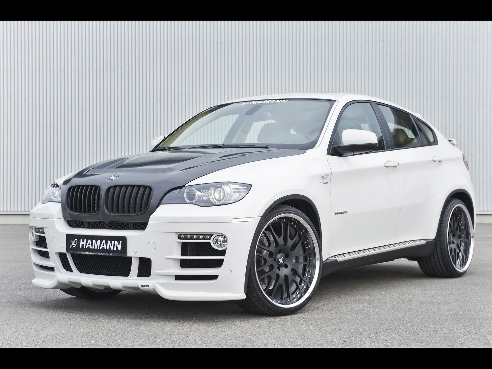 Latest Cars Hd Wallpapers 2009 Hamann Bmw X6 Free Download