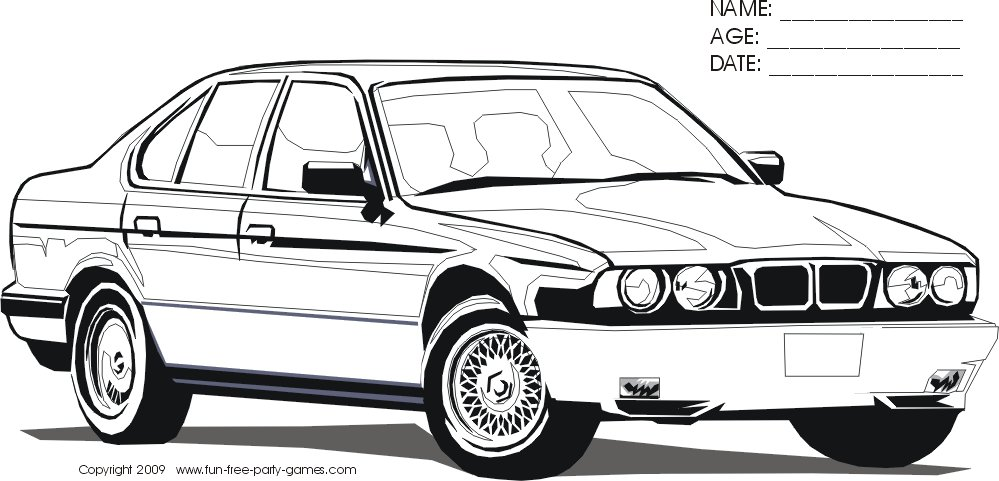 Latest Bmw Car Coloring Pages Az Coloring Pages Free Download