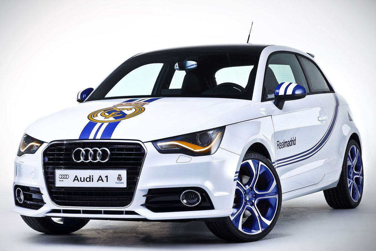 Latest Audi A1 Limited Edition Real Madrid Borussia Dortmund And Free Download