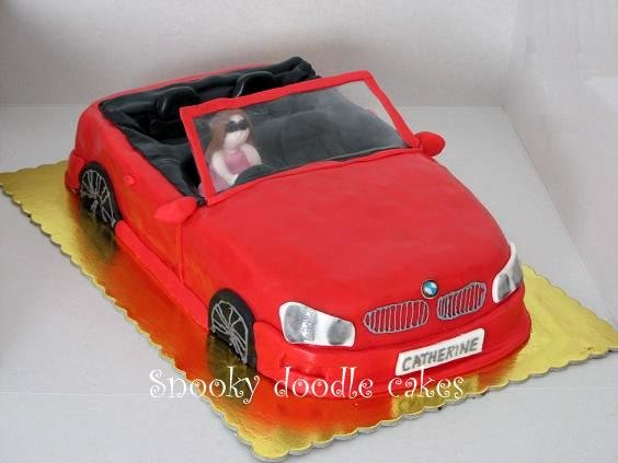 Latest Snooky Doodle Cakes Bmw Car Cake Free Download