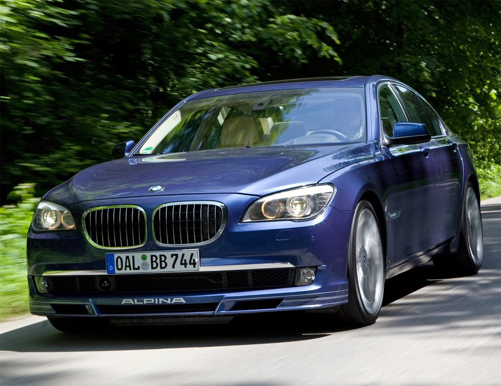 Latest Car Model 2012 Bmw Alpina B7 Free Download