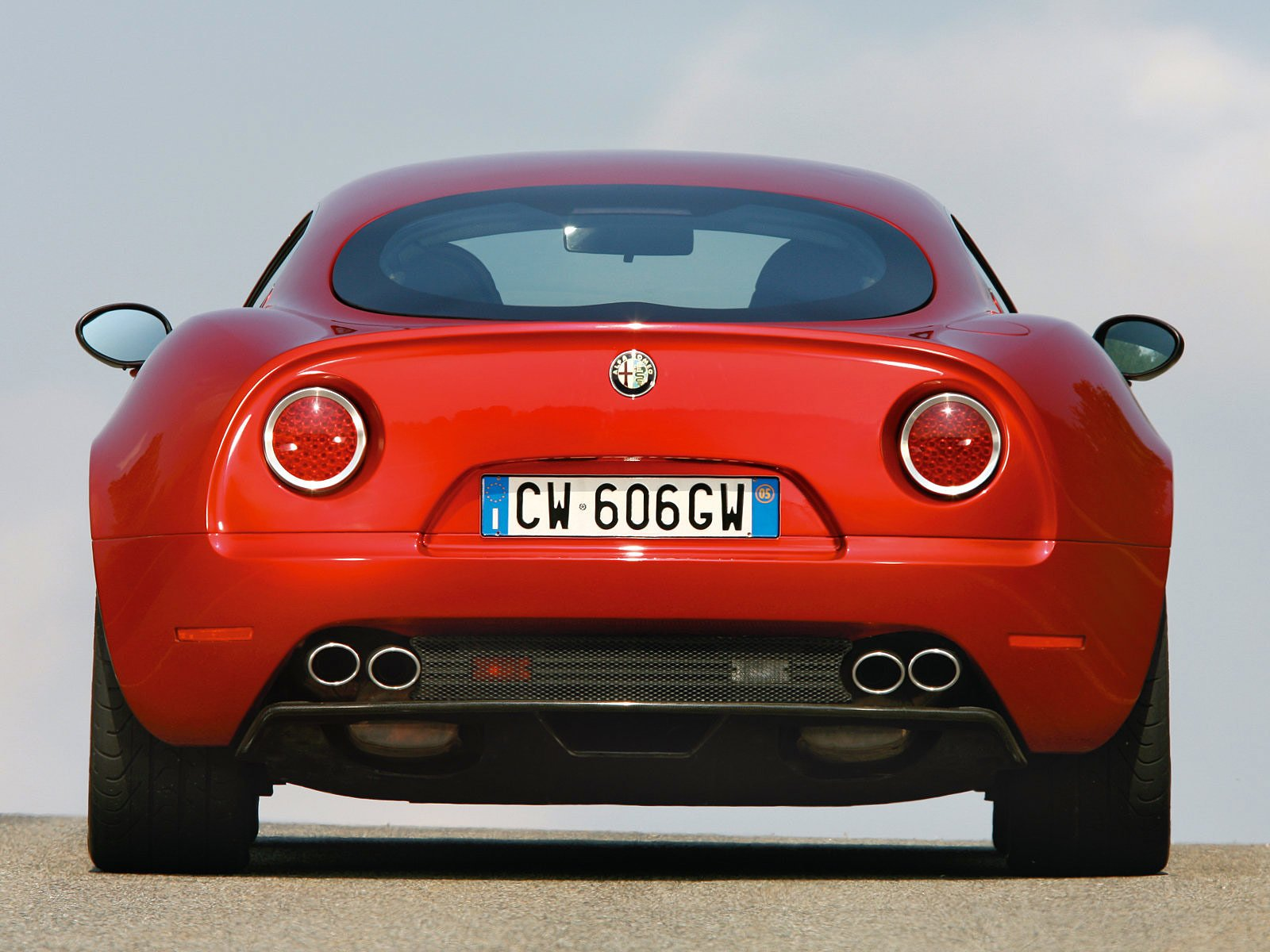 Latest 2007 Alfa Romeo 8C Competizione Free Download