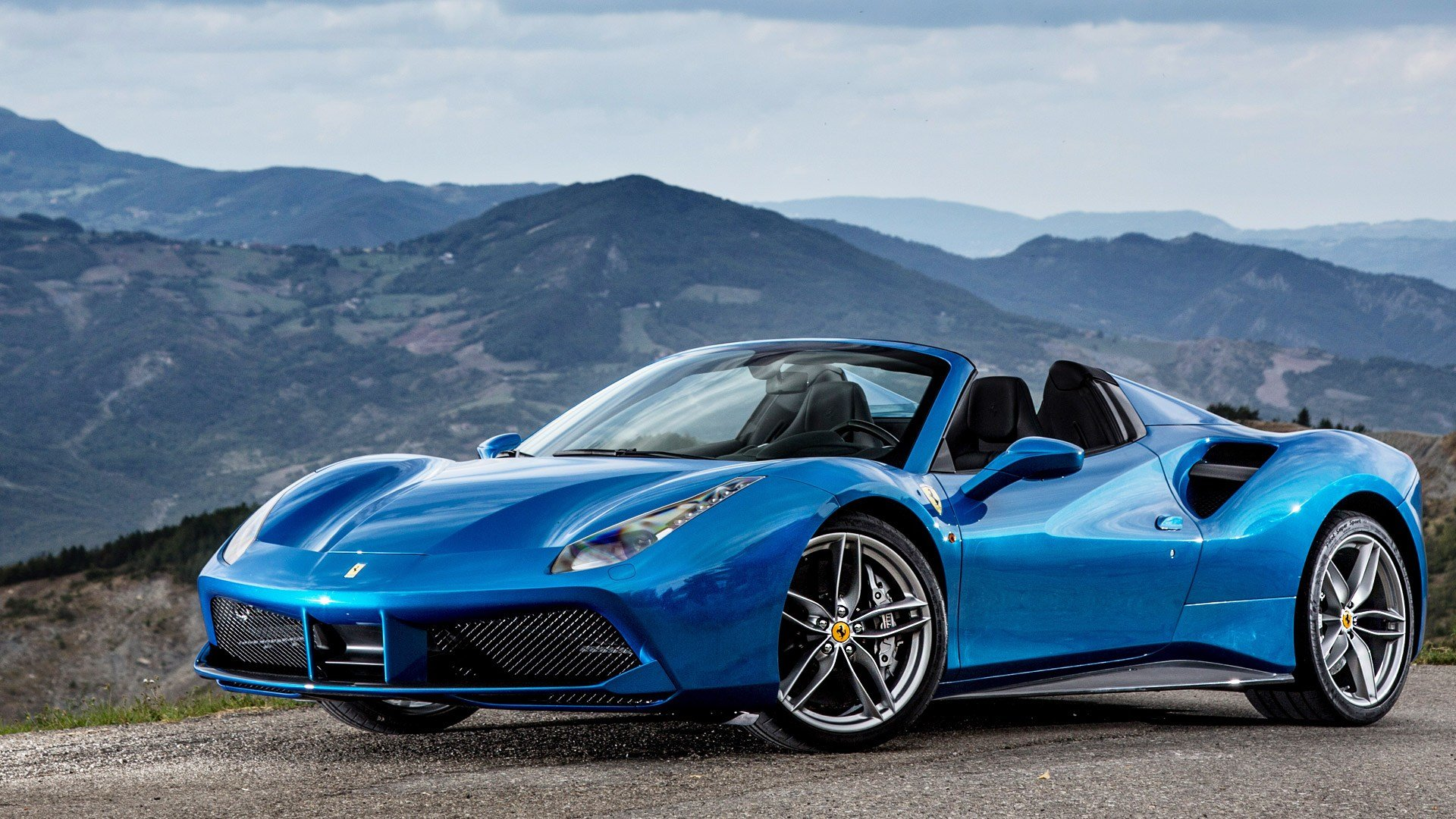 Latest Ferrari 488 2017 Spider Exterior Car Photos Overdrive Free Download