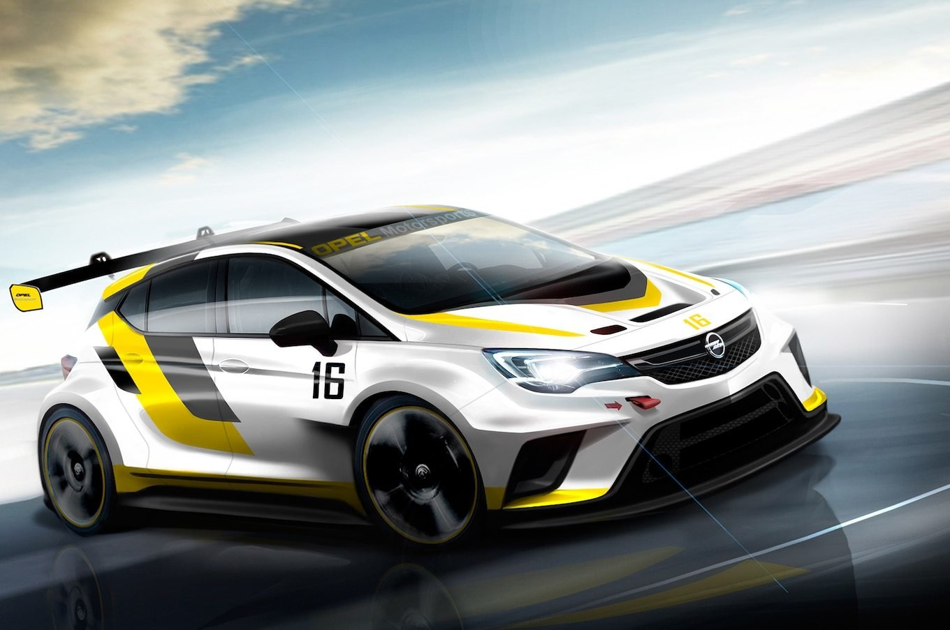 Latest Opel Developing 330 Hp Astra Race Car For Tcr Series Free Download