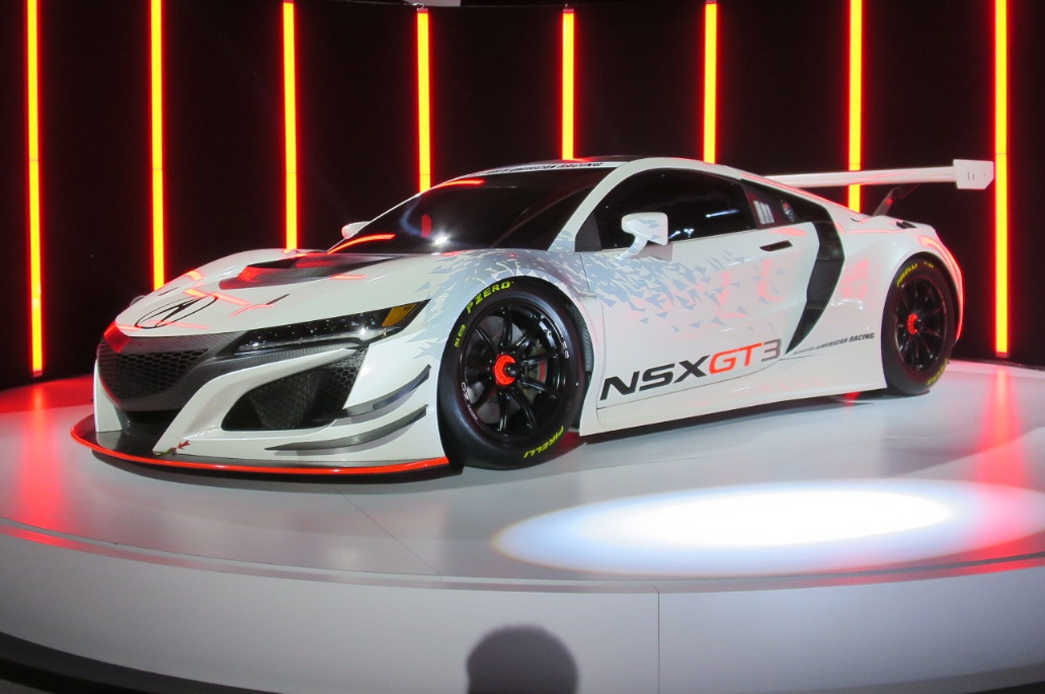 Latest Acura Nsx Gt3 Race Car Storms Into New York Auto Show Free Download