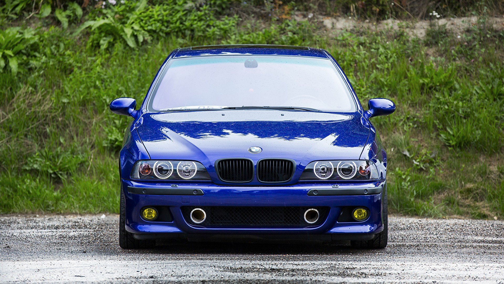 Latest Photos Bmw M5 E39 Blue Cars Front 1920X1080 Free Download