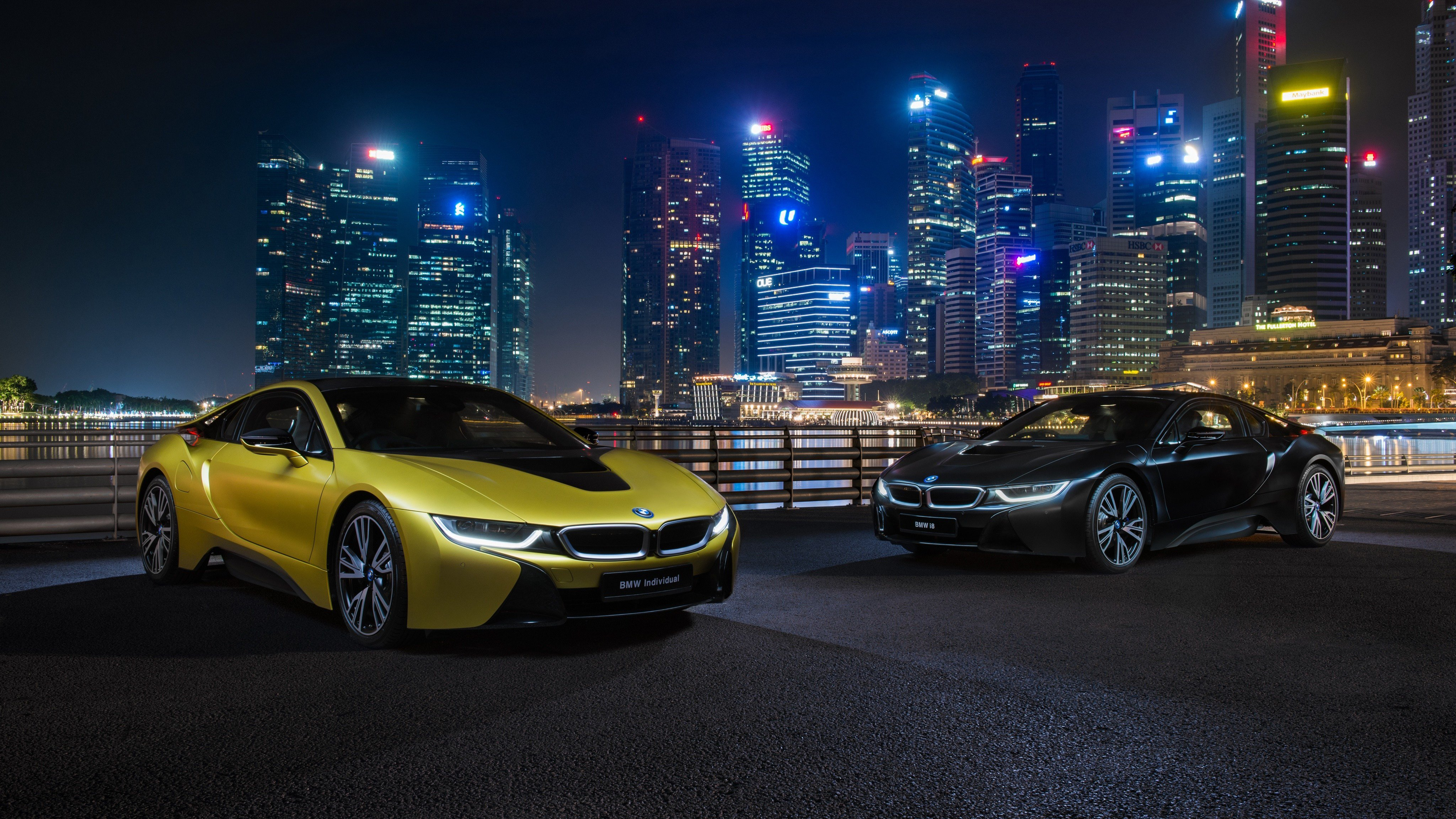 Latest Image Bmw I8 Frozen Yellow Edition Two Gold Color Auto Free Download