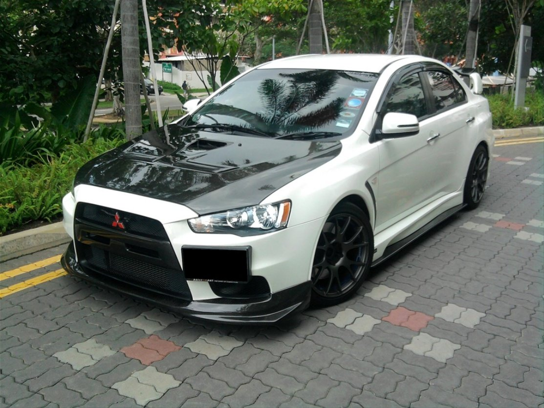 Latest Modified Cars Mitsubishi Evo X Custom Body Kit Free Download