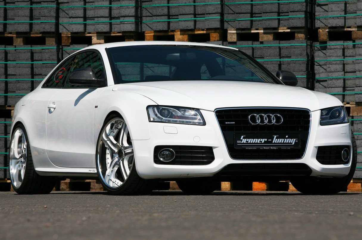Latest Cars Audi A5 White Free Download