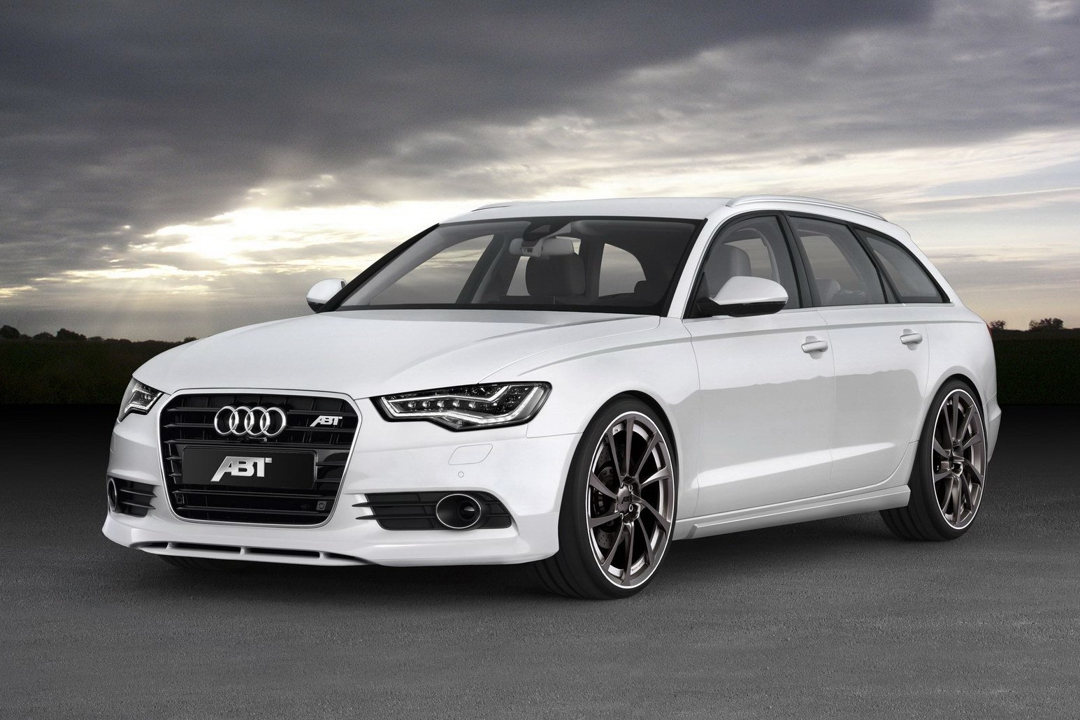 Latest Abt Sportsline Customizes New Audi A6 Avant Free Download
