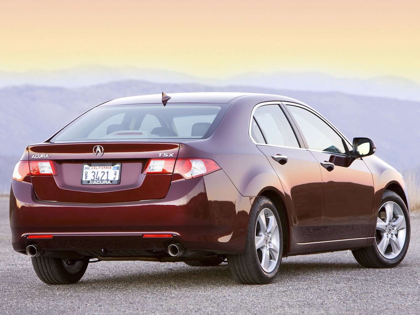 Latest Japanese Car Wallpapers 2009 Acura Tsx Free Download