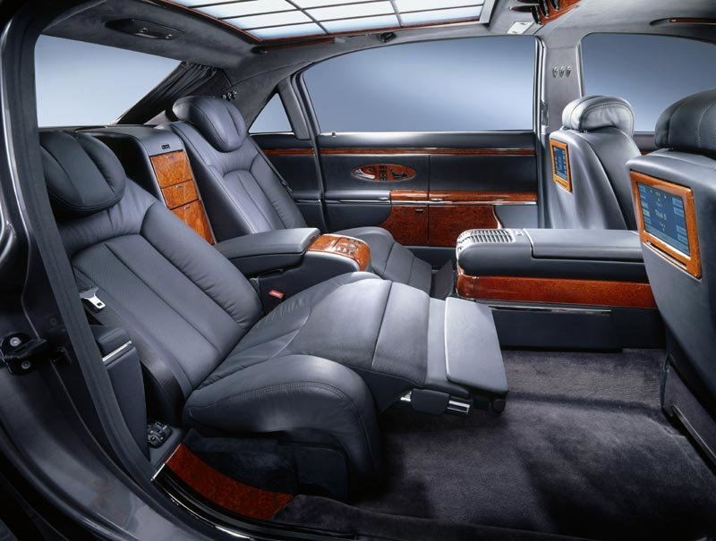 Latest Wallpapers Cars Maybach Exelero Interior Free Download