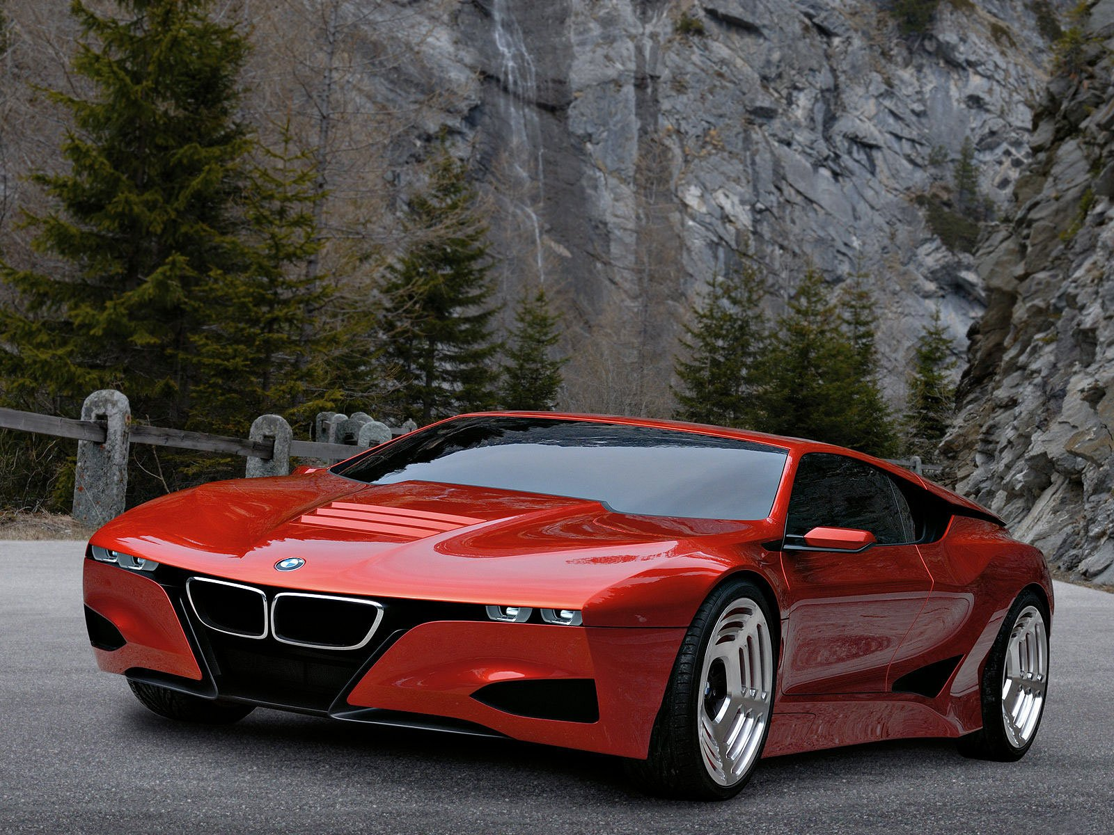 Latest Bmw M1 Concept 2008 Gambar Mobil Free Download
