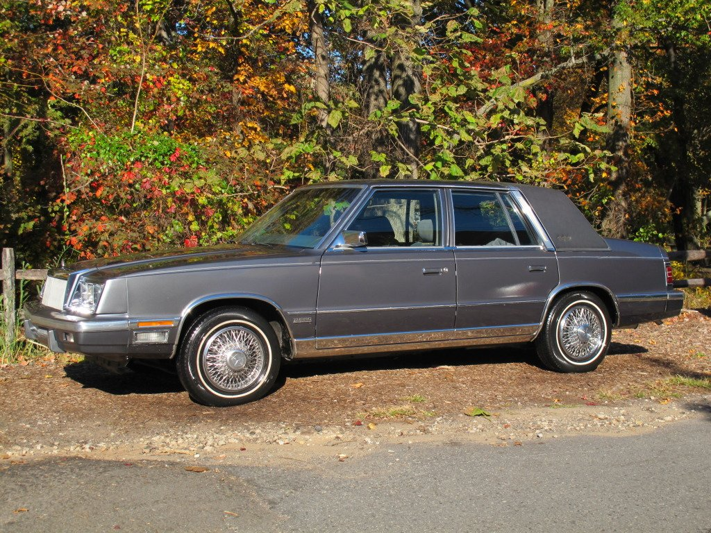 Latest Classic Cars Of The 1980 S 1987 Chrysler New Yorker Free Download