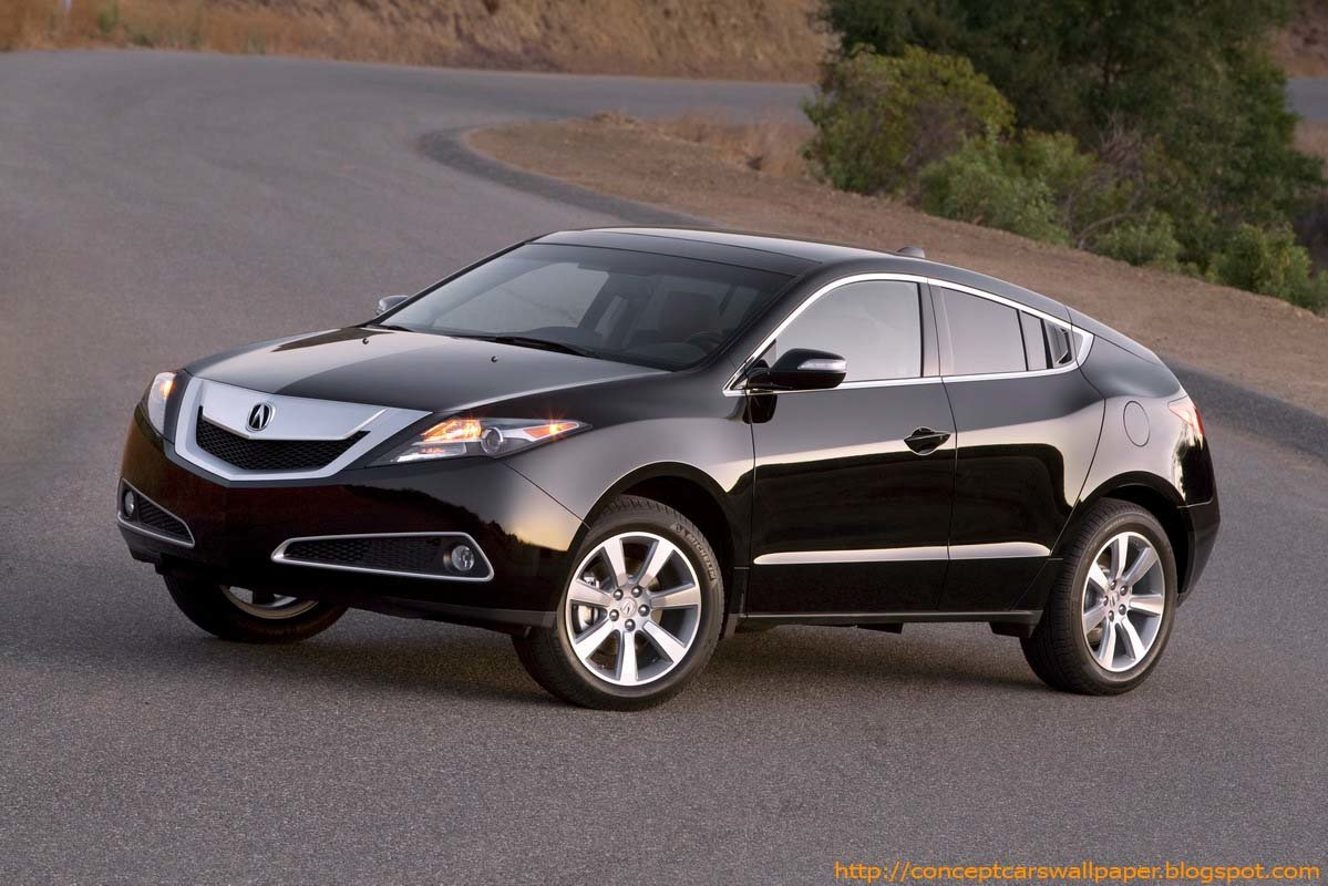 Latest Acura Zdx Concept Car Free Download