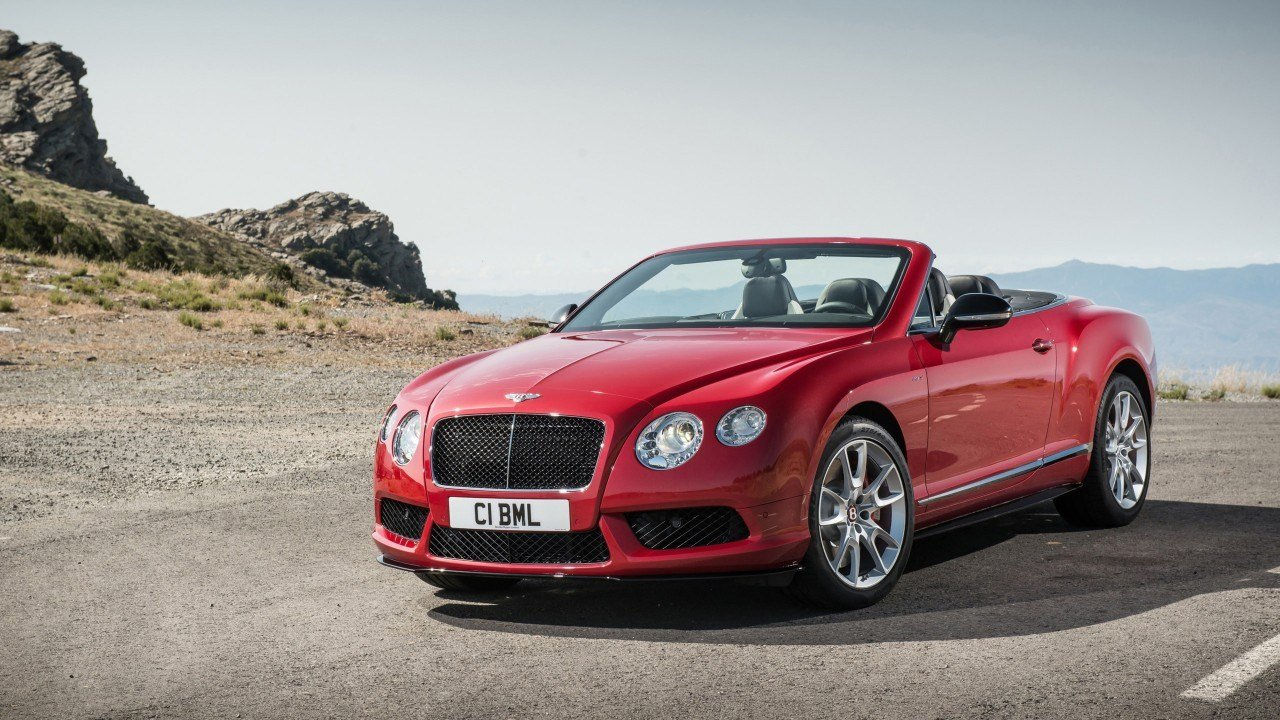 Latest 2014 Bentley Continental Gt V8 S Convertible Wallpaper Free Download