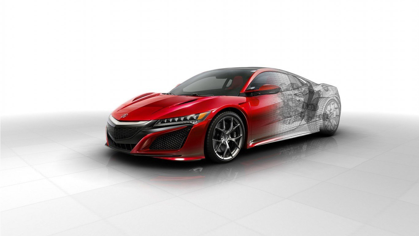 Latest 2016 Acura Nsx Technical Wallpaper Hd Car Wallpapers Free Download