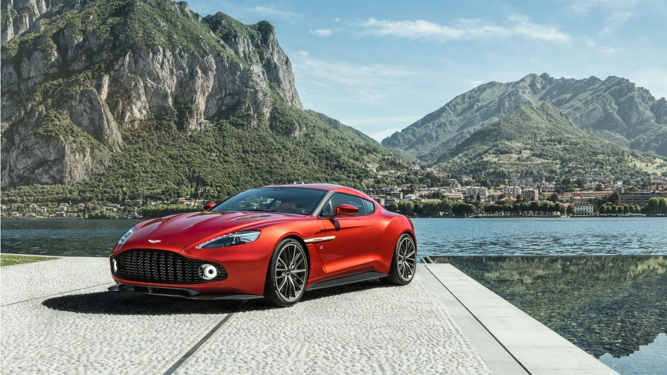 Latest 2017 Aston Martin Vanquish Zagato 5 Wallpaper Hd Car Free Download