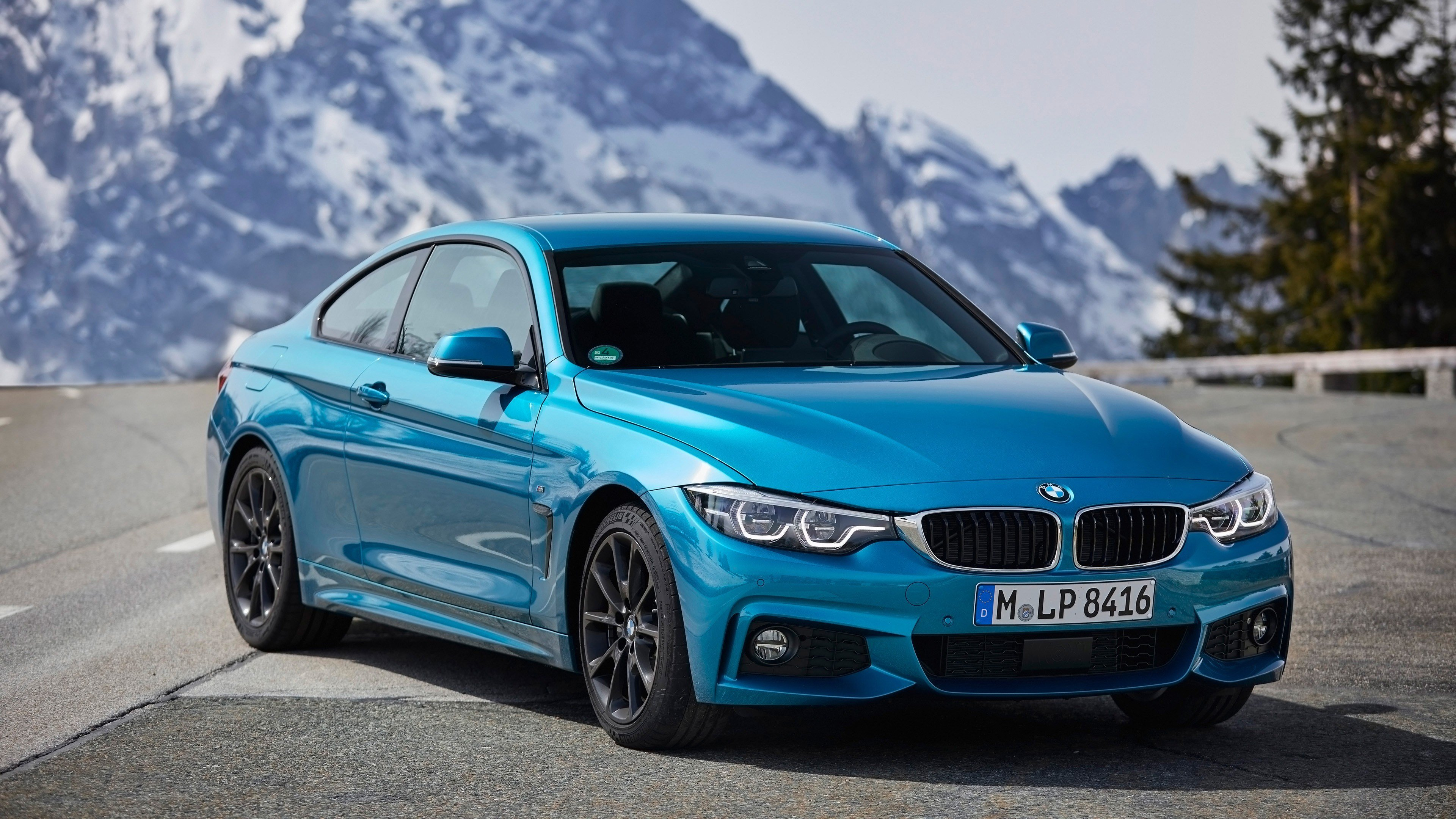Latest 2018 Bmw 4 Series Coupe 2 Wallpaper Hd Car Wallpapers Free Download
