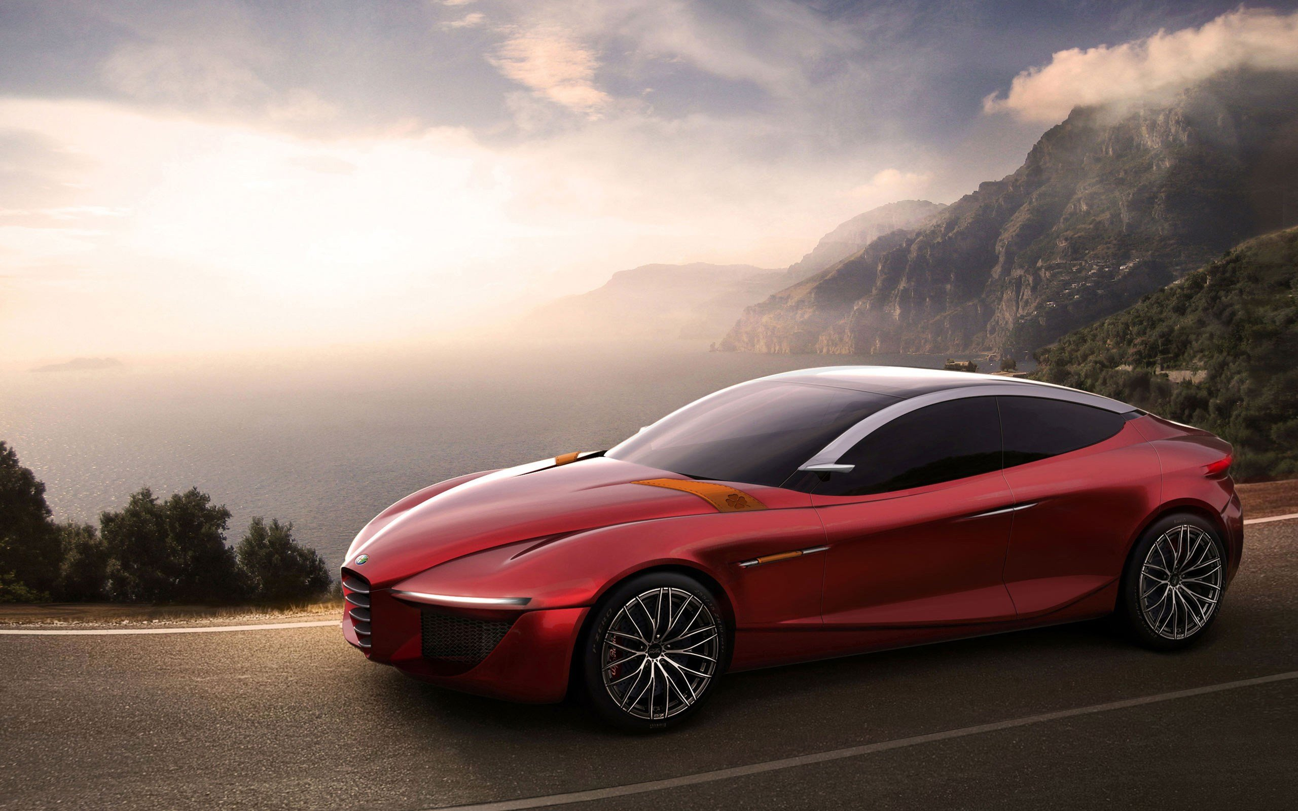 Latest 2013 Alfa Romeo Gloria Concept Wallpaper Hd Car Free Download