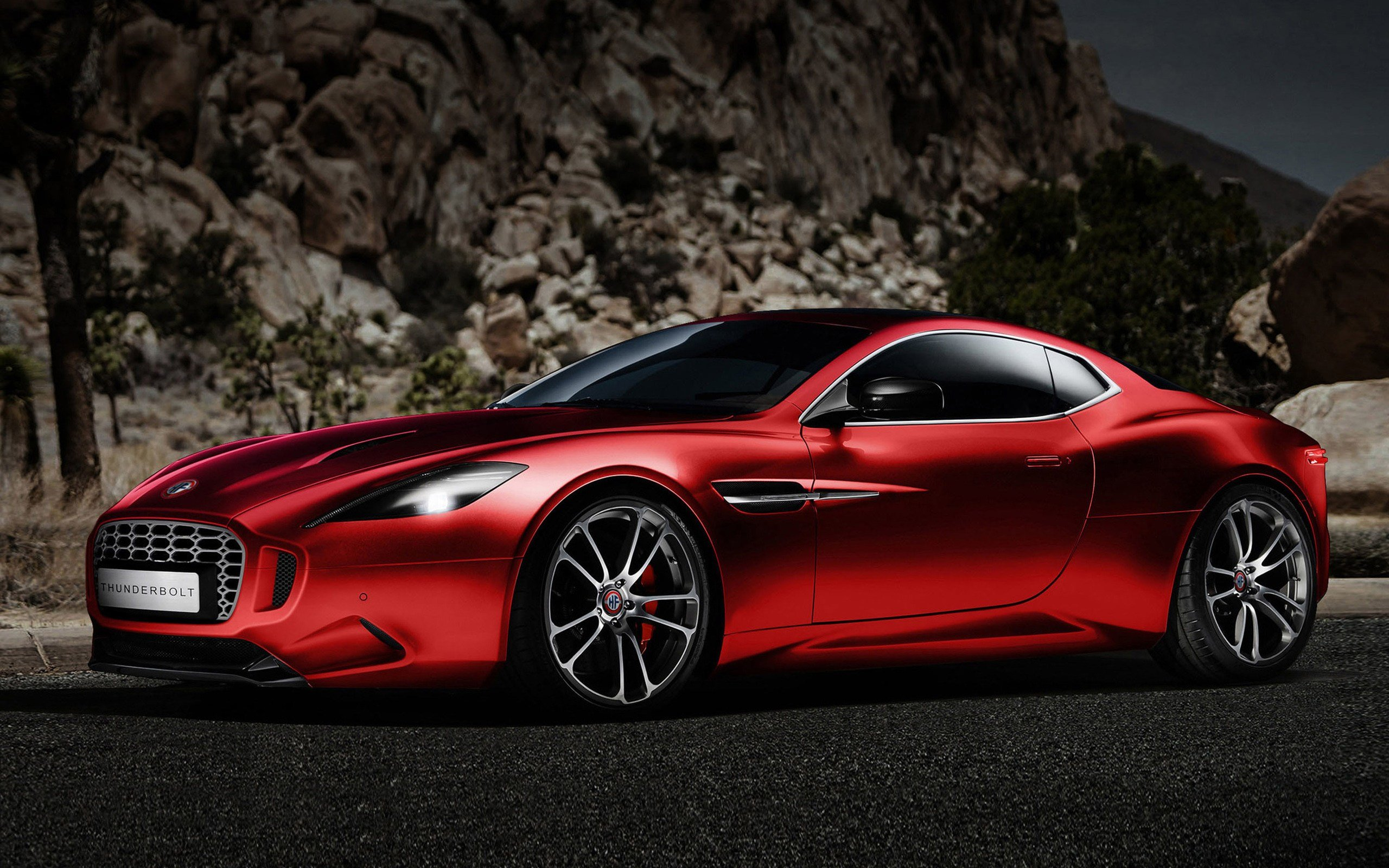 Latest 2015 Fisker Aston Martin Vanquish Thunderbolt Concept 2 Free Download