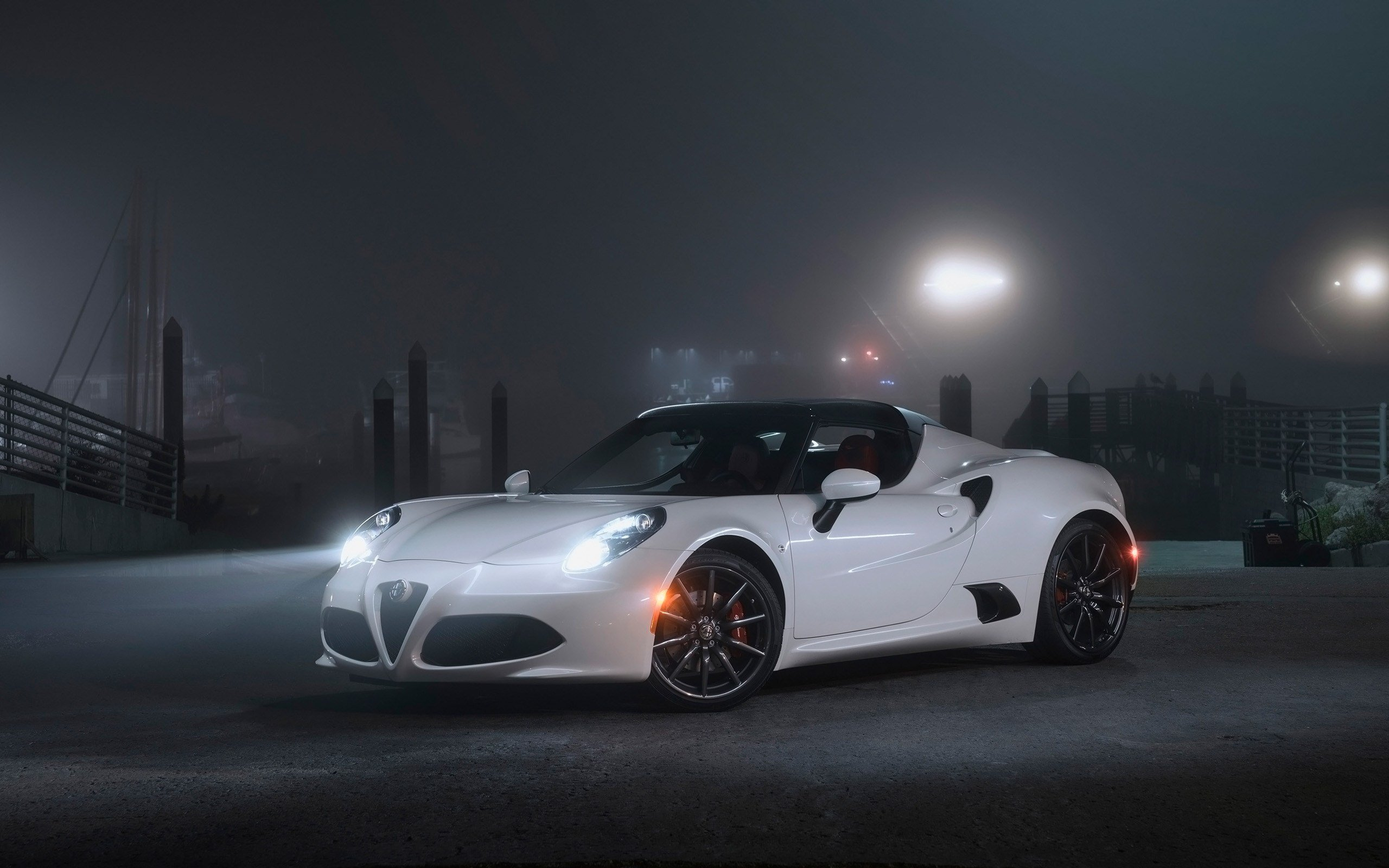 Latest 2016 Alfa Romeo 4C Spider Wallpaper Hd Car Wallpapers Free Download