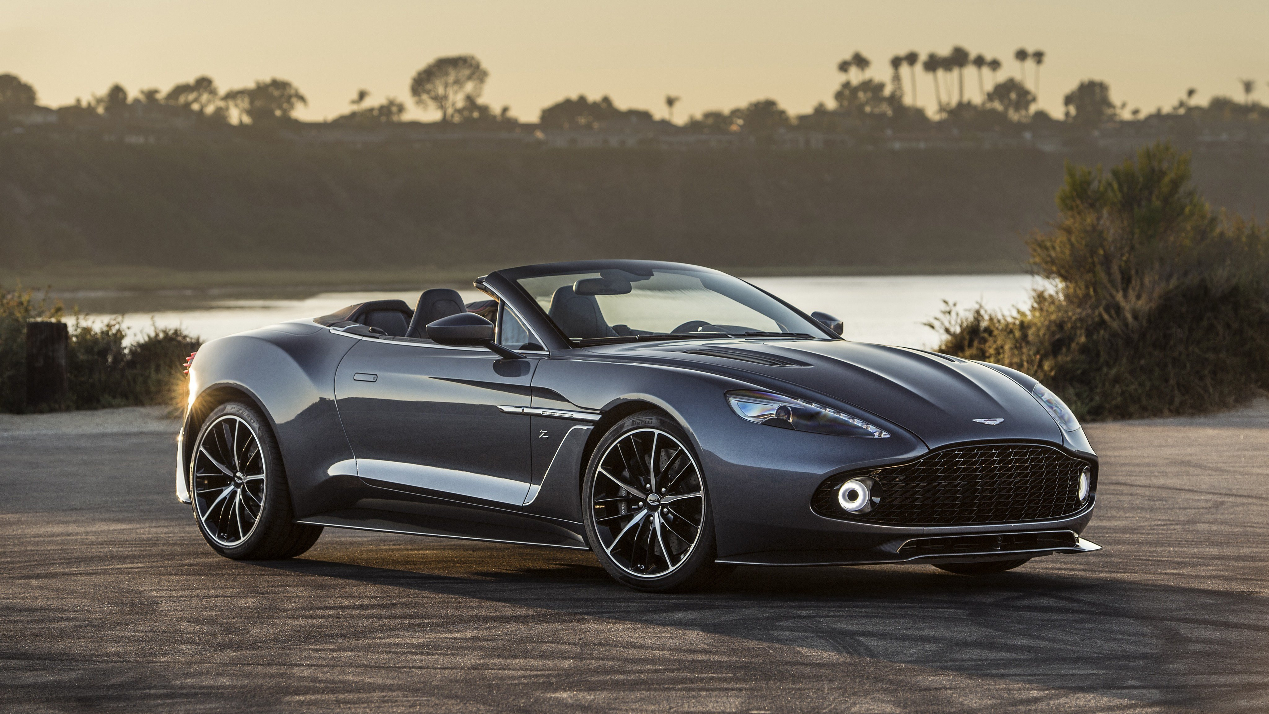 Latest 2017 Aston Martin Vanquish Zagato Volante 4K Wallpaper Free Download