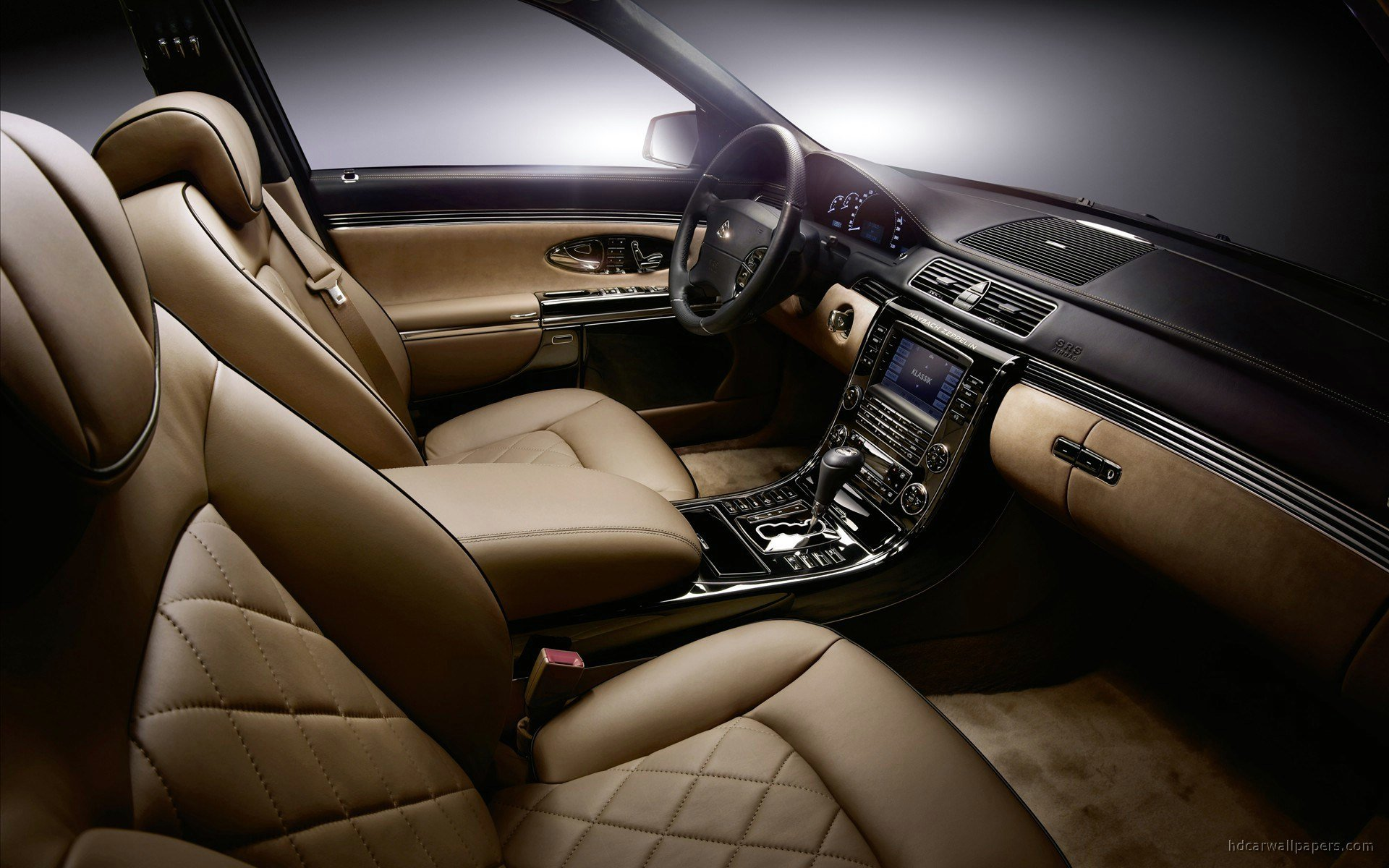 Latest Maybach Zeppelin Interior Wallpaper Hd Car Wallpapers Free Download