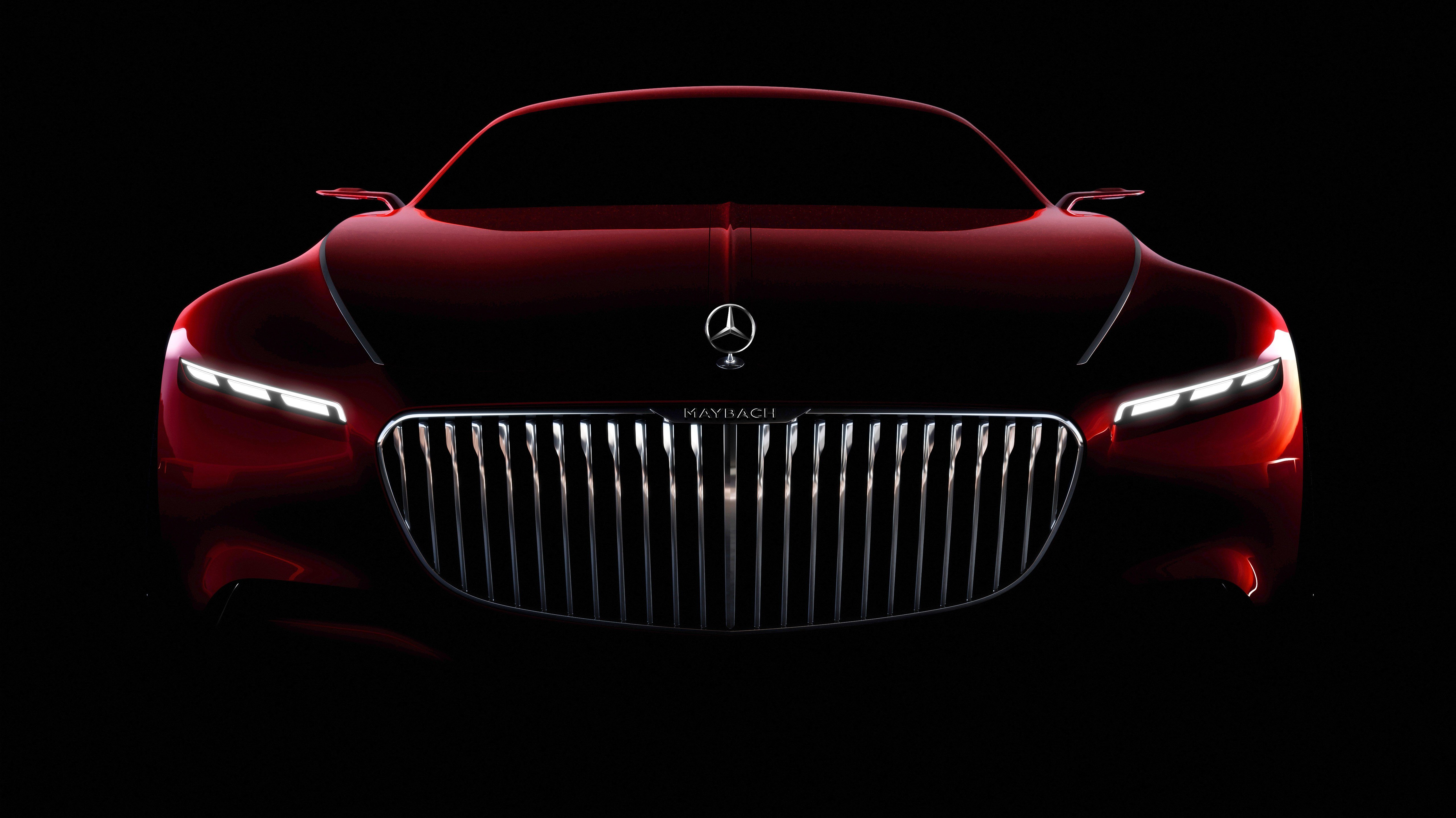 Latest Mercedes Maybach Coupe Concept 5K Wallpaper Hd Car Free Download