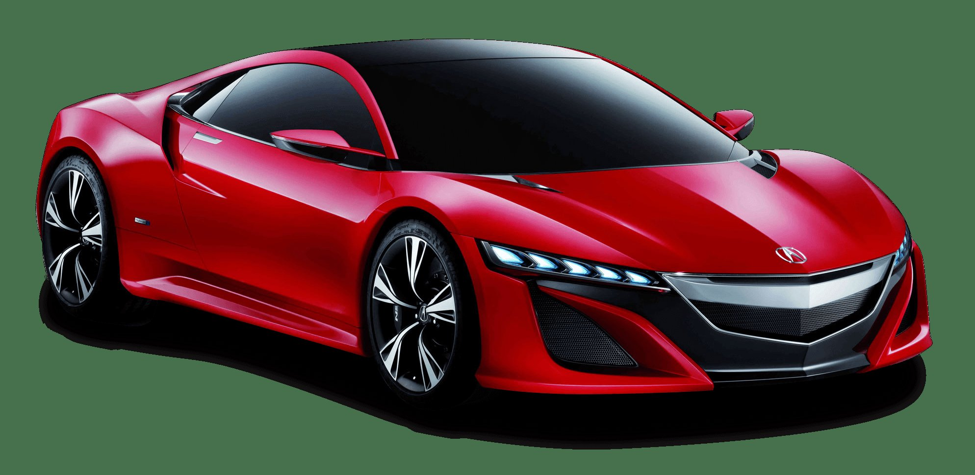 Latest Red Acura Nsx Front View Car Png Image Pngpix Free Download