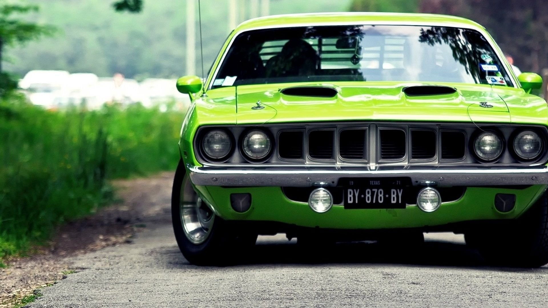 Latest Plymouth Barracuda 1970 Muscle Car Hd Wallpaper Free Download
