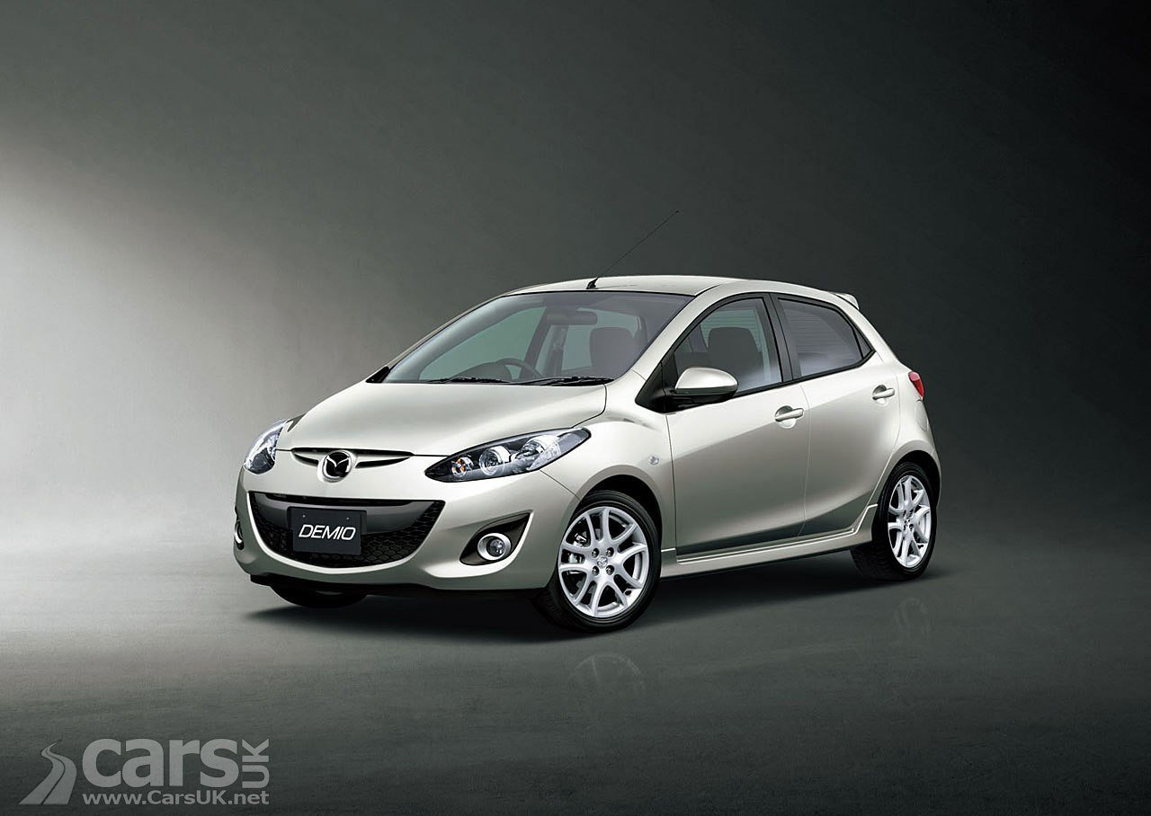 Latest Mazda Demio 2012 Facelift Photo Gallery Free Download