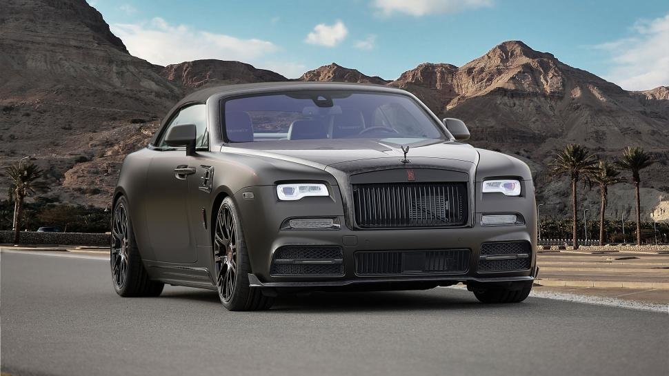 Latest Mansory Rolls Royce Dawn Black Collage Geneva 2017 Free Download