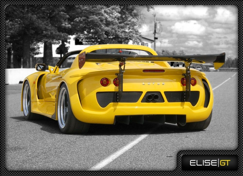 Latest Lotus Elise Gt Widebody One Off Supercar Race Car Free Download