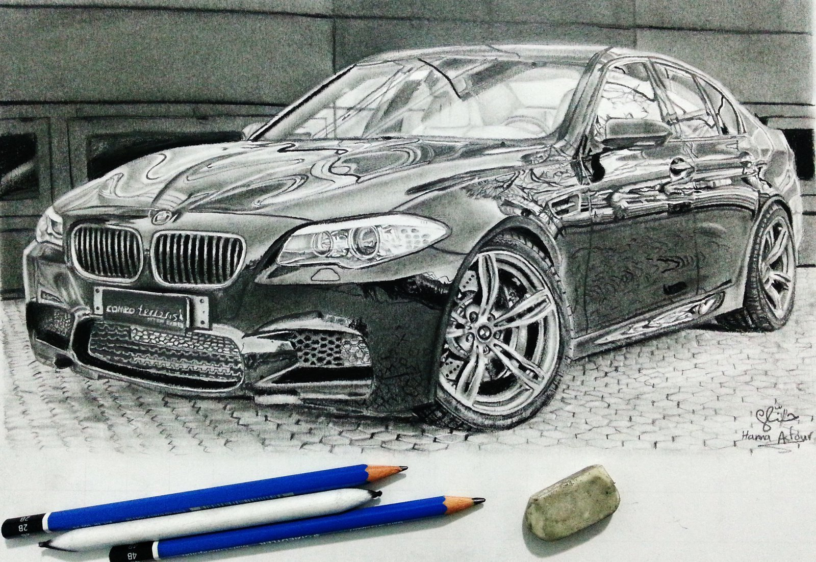 Latest Bmw M5 Car Drawing By Hannaasfour On Deviantart Free Download