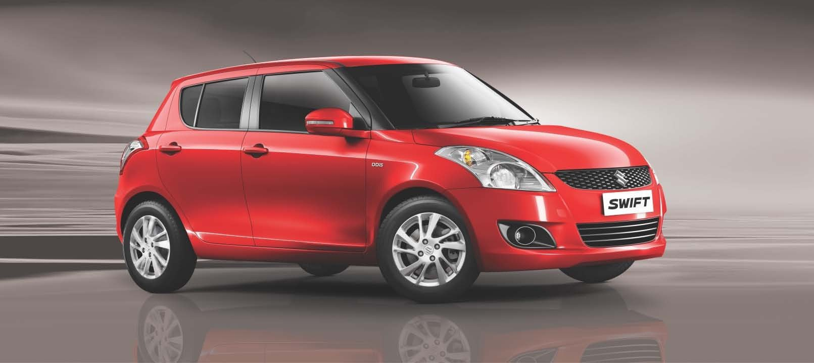 Latest New Maruti Suzuki Swift Exterior Red Color Right Side View Free Download