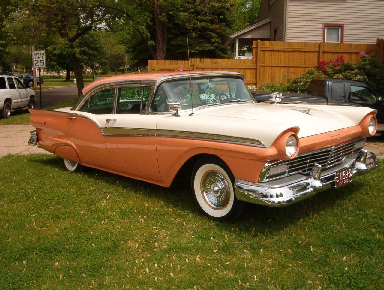 Latest Car Photos 1957 Ford Fairlane 500 Sedan Free Download