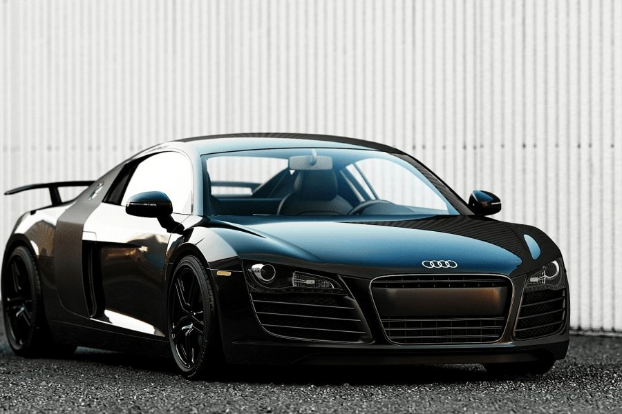 Latest Wallpapers Audi R8 Audi Cars Audi R8 Spoiler Black Car Free Download