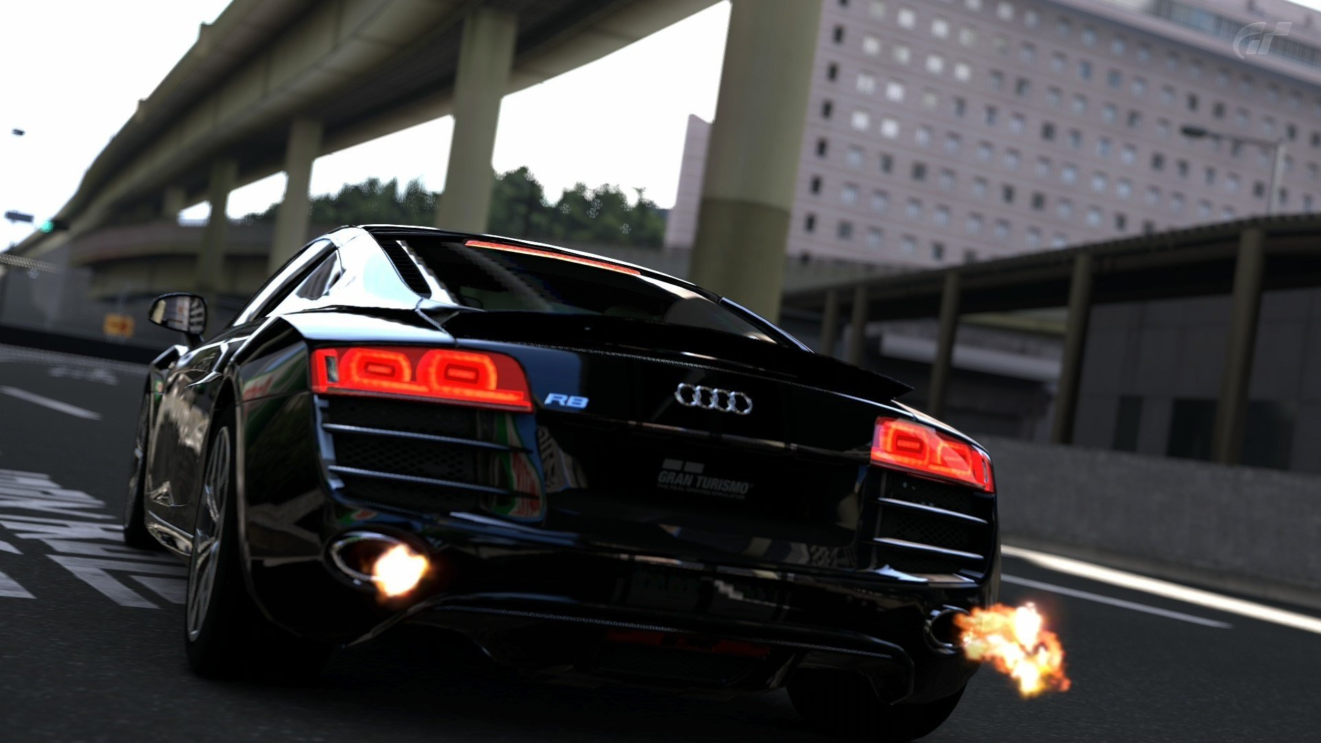 Latest Video Games Cars Audi R8 Gran Turismo 5 Ps3 1920X1080 Free Download