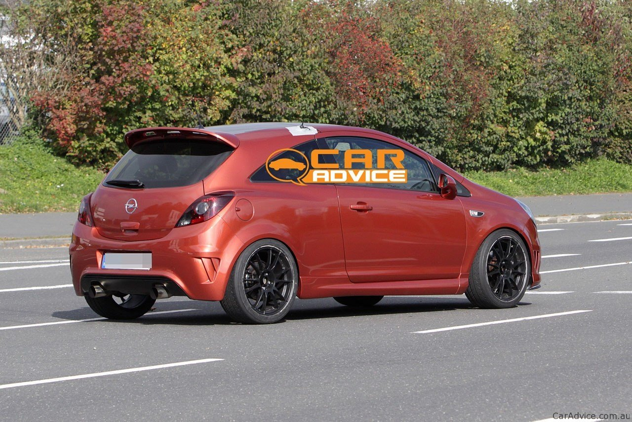 Latest Opel Corsa Opc Nürburgring Edition Spy Photos Photos 1 Free Download