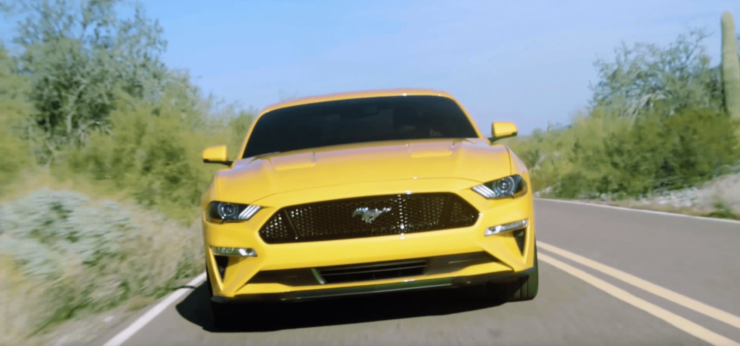 Latest 2018 Ford Mustang Update Leaked Photos 1 Of 6 Free Download
