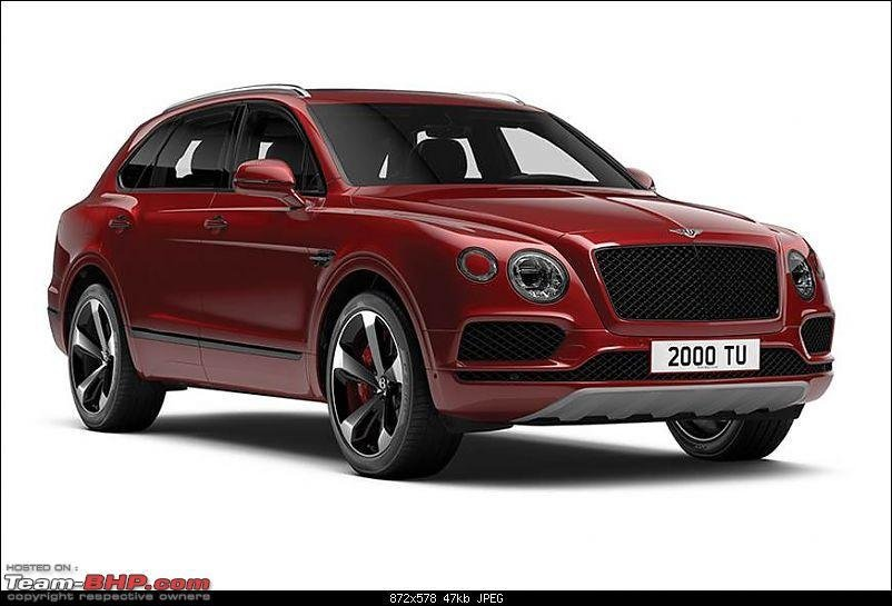 Latest The Bentley Bentayga Suv Page 4 Team Bhp Free Download