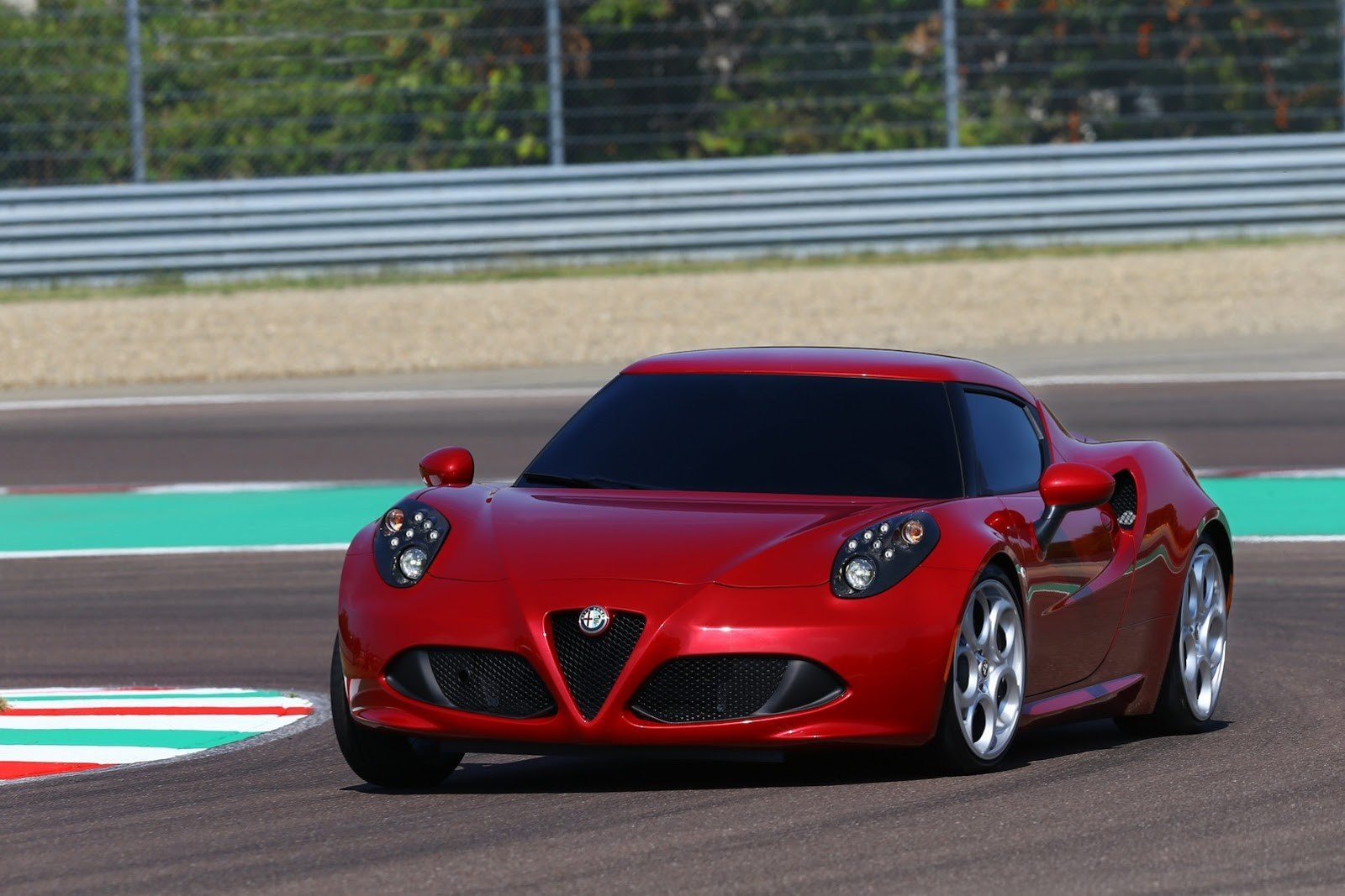 Latest Alfa Romeo 4C Sports Car Launches Pictures And Details Free Download