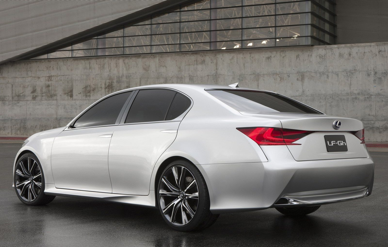 Latest 2011 New York Motor Show Lexus Lf Gh Concept Official Free Download