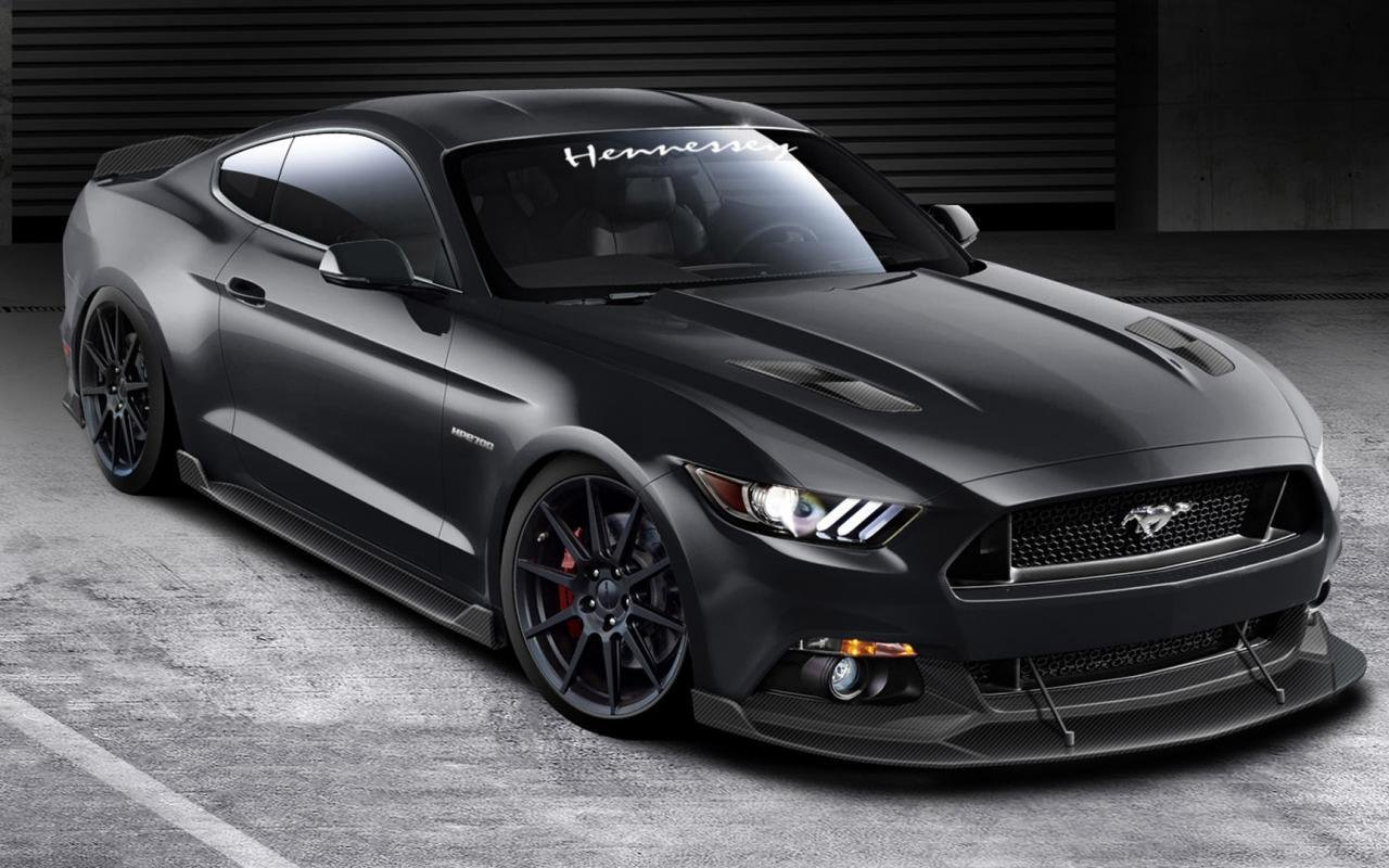 Latest 2015 Hennessey Ford Mustang Gt Car Wallpapers Free Download