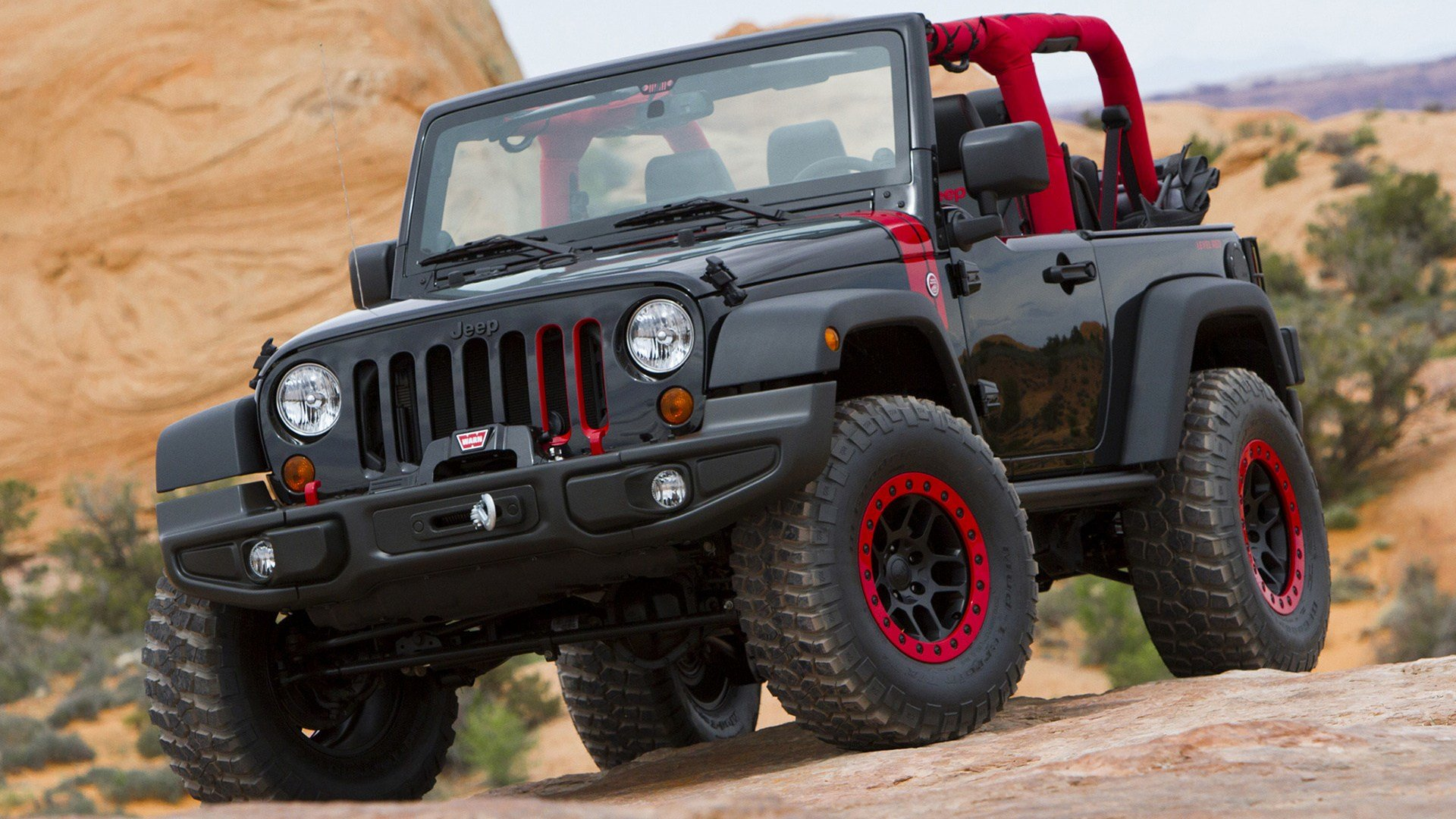 Latest Jeep Wrangler Level Red Concept 2014 Wallpapers And Hd Free Download