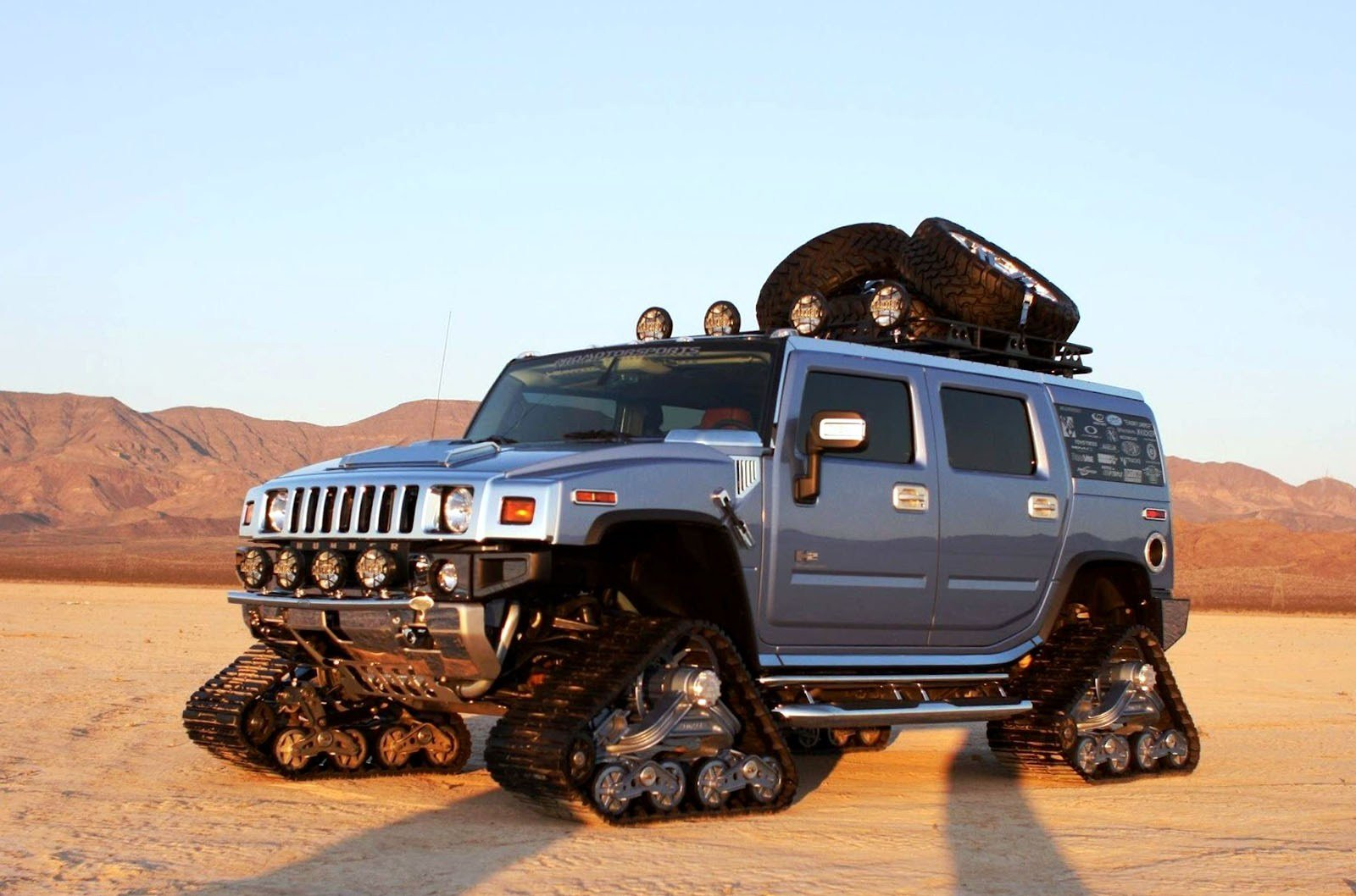 Latest Amazing Silver Hummer Car Wallpapers Hd Desktop And Free Download