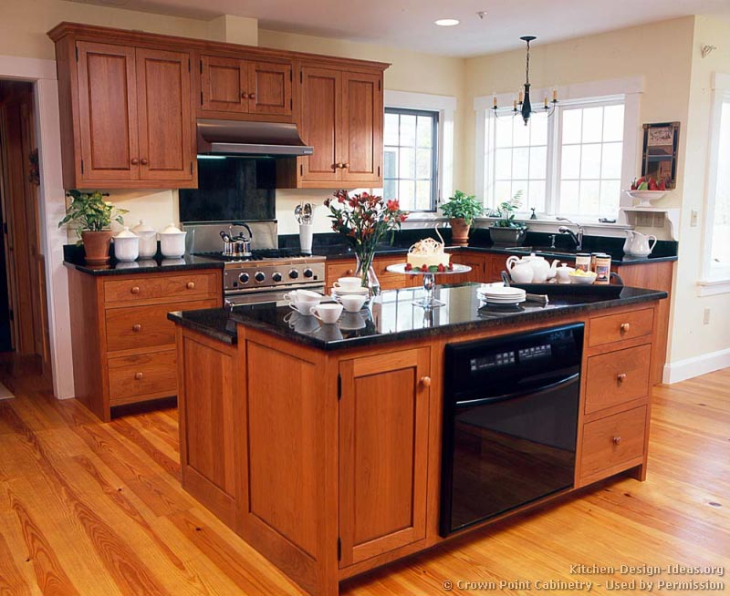 cherry kitchen island cabinets   Modern Kitchen Furniture Photos     Photo Gallery of the Cherry wood kitchen islands for incredibly stylish  kitchens